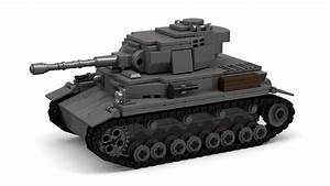 Lego Wwii Panzer Iv Ausf  G Tank Instructions