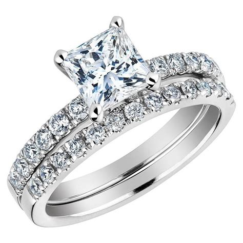 wedding rings for women princess cut 5140476fd601c
