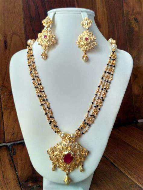 latest gram neck sets black beads jewelry buy