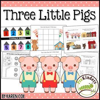 the three little pigs preschool activities three pigs activity pack pre k preschool by 753