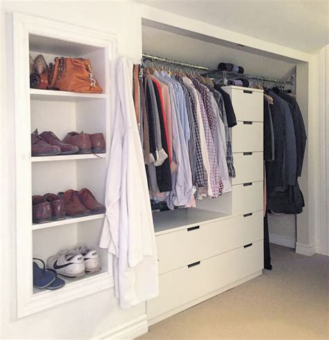 Ikea Nordli Kleiderschrank by Nordli Drawers Turned Built In Closet For The Home In