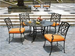 painting rusted metal outdoor furniture landscaping