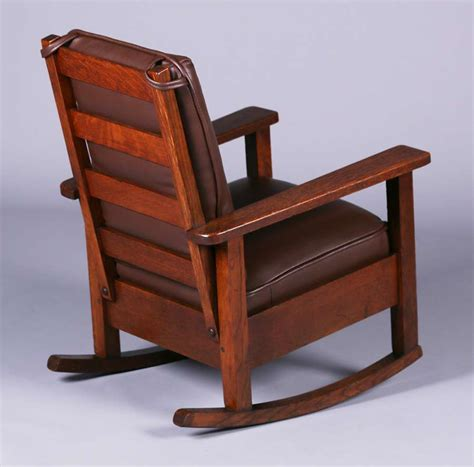 Stickley Childs Rocking Chair by Stickley Brothers Child S Rocker California Historical