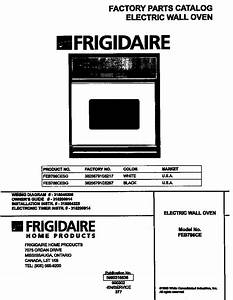 Frigidaire Wall Oven Parts