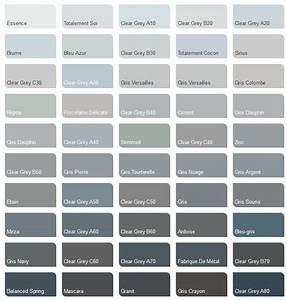 nuancier peinture grise meilleures images d39inspiration With nuancier de gris peinture