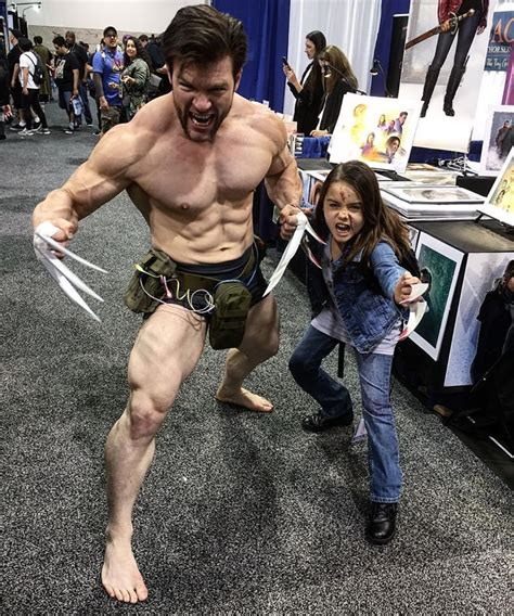 Wolverine And X Cosplay Holy Muscles Cosplay Characters Superhero Cosplay