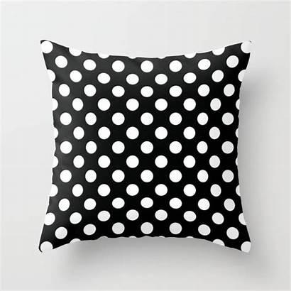 Dot Polka Pattern Pillow Throw Pillows Society6