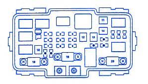honda cr   front fuse boxblock circuit breaker
