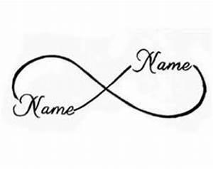 Tattoo Unendlichkeitszeichen Mit Buchstaben : 25 best ideas about infinity name tattoo on pinterest infinity tattoos heart tattoos and ~ Frokenaadalensverden.com Haus und Dekorationen