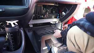 1996 - 2000 Honda Civic Glove Box Door Cubby Removal