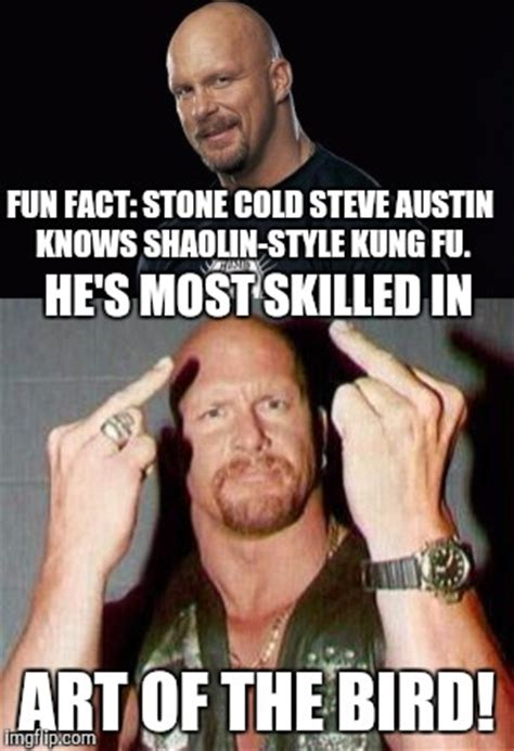 Stone Cold Meme - image tagged in stone cold steve austin fun fact memes imgflip