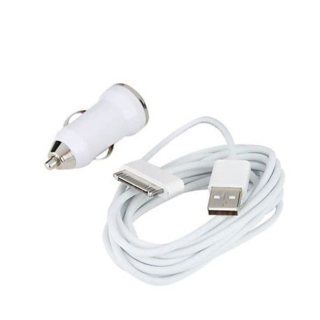 apple iphone car charger apple iphone 4 4s car charger with usb cable retrons