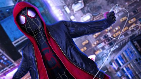 Spiderman Into The Spiderverse Hd Wallpaper 1920x1080