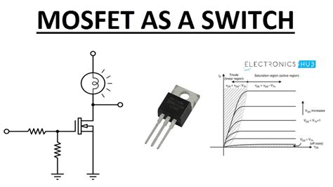 Analysis Mosfet Switch With Circuit Diagram