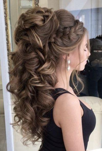 peinado peinados   pinterest hair prom hair long hair wedding styles