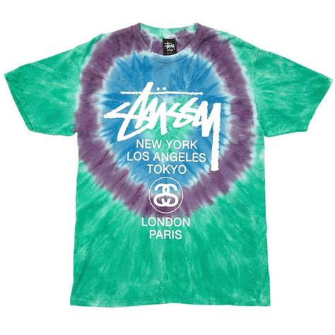 Bold And Bright Look With Tie Dye Swirl T Shirt Soletopia
