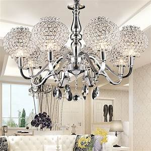 Lustre Pour Chambre : lustre moderne salon design en image ~ Teatrodelosmanantiales.com Idées de Décoration