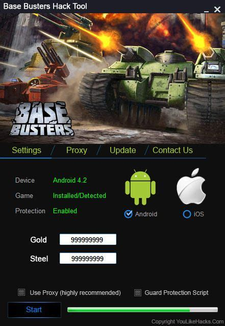 tool hack busters base cheat engine