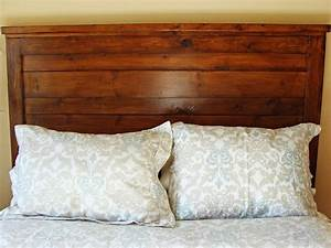How, To, Build, A, Rustic, Wood, Headboard