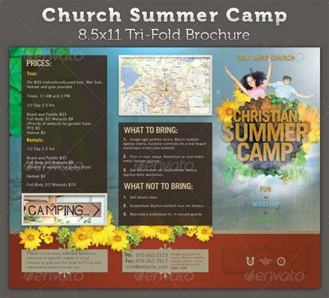 camp brochures  psd vector eps ai