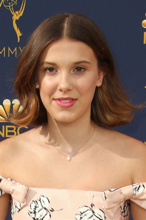millie bobby browns hairstyles hair colors steal