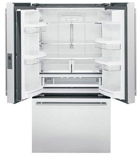 ge monogram stainless french refrigerator zweeshss