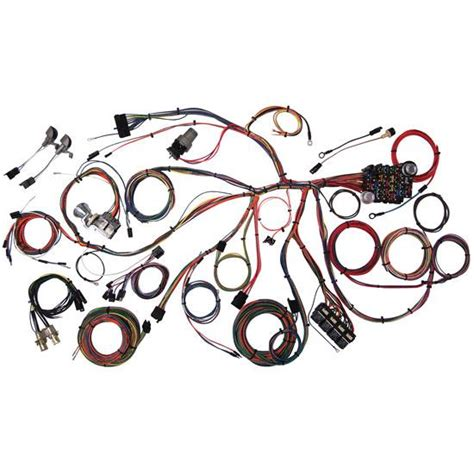 68 Mustang Wire Harnes by American Autowire 510055 1967 68 Mustang Wiring Harness