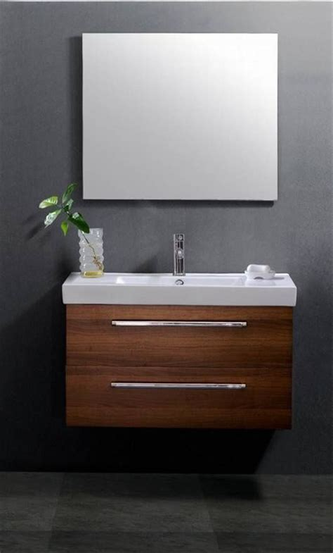 the grey background serenity wall mount vanity unit
