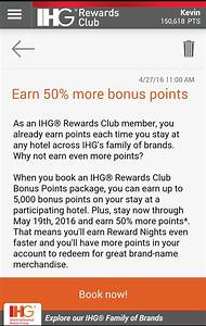 Club Total Points : ihg rewards club 50 bonus on points bonus points packages through may 19 2016 loyaltylobby ~ Medecine-chirurgie-esthetiques.com Avis de Voitures