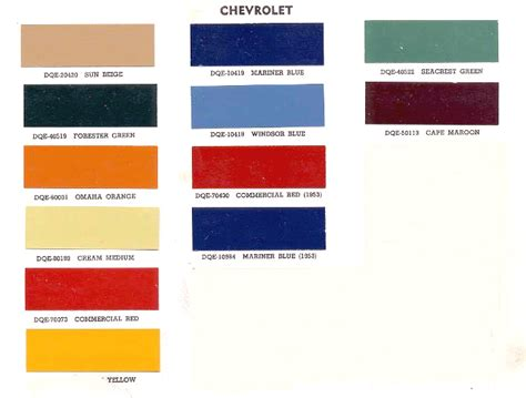 Excellent Chameleon Paint Color Chart On Advance Design