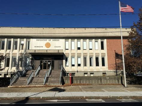 Plymouth County Selling Registry Of Deeds Building In