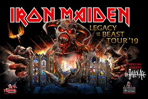 Iron Maiden to Bring 'Legacy of the Beast' Tour to North ...