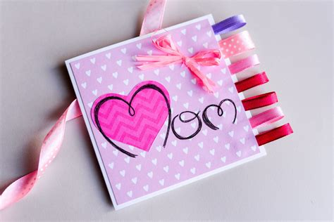 make a s day card how to make easy greeting card mother s day step by doovi