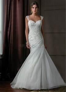 Robe De Mariee Sirene : robe de mariee avec manche en dentelle ~ Melissatoandfro.com Idées de Décoration