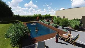 Photo D Amenagement Piscine : paysagiste reims pernay entourage vert marne 51 ~ Premium-room.com Idées de Décoration