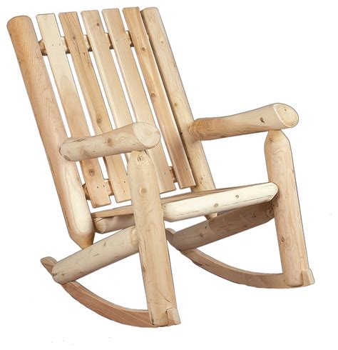28 quot back rocker chair rustic outdoor rocking chairs