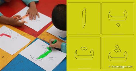 30 gambar mewarnai huruf hijaiyah lengkap untuk anak