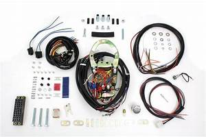 Five Light Dash Base Wiring Harness Assembly For Harley