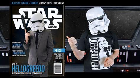 hellogreedo featured  star wars insider magazine youtube