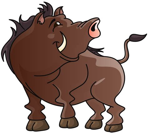 Boar Cartoon PNG Clipart Image | Gallery Yopriceville ...
