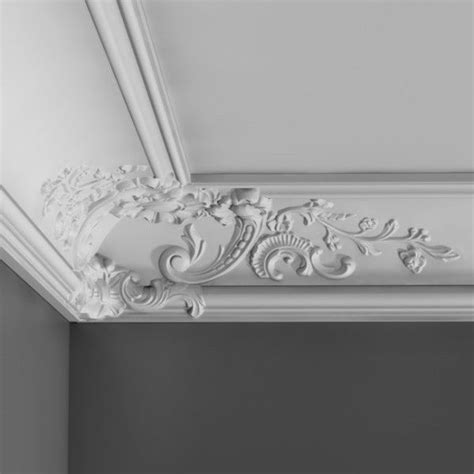 cb baroque french style cornice wm boyle interior