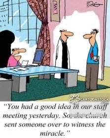 Funny Staff Meeting Cartoons