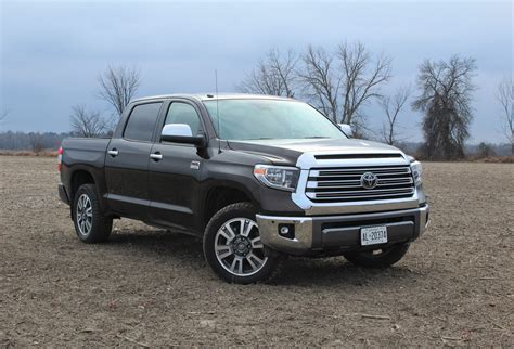Toyota Tundra Platinum by 2018 Toyota Tundra Platinum 4x4 1794 Edition Review