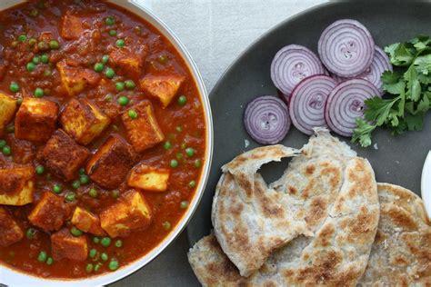 punjabi matar paneer indian recipes maunika gowardhan