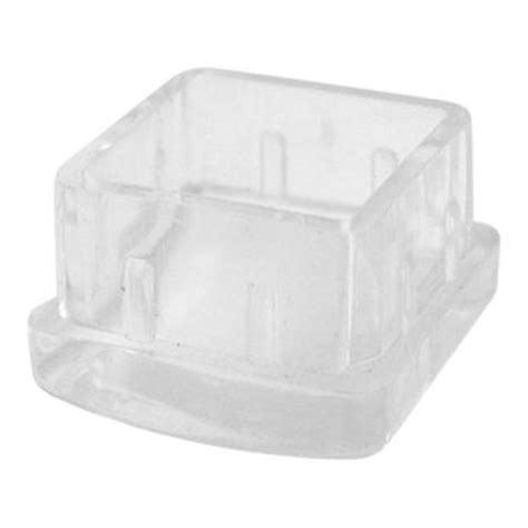 commercial 1 1 4 quot square plastic end cap etundra