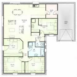 Plan Maison 4 Chambres Suite Parentale by Afficher L Image D Origine Plan T3 Pinterest Images