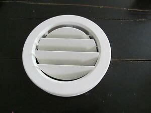 white  ceiling ac vent  collar cover