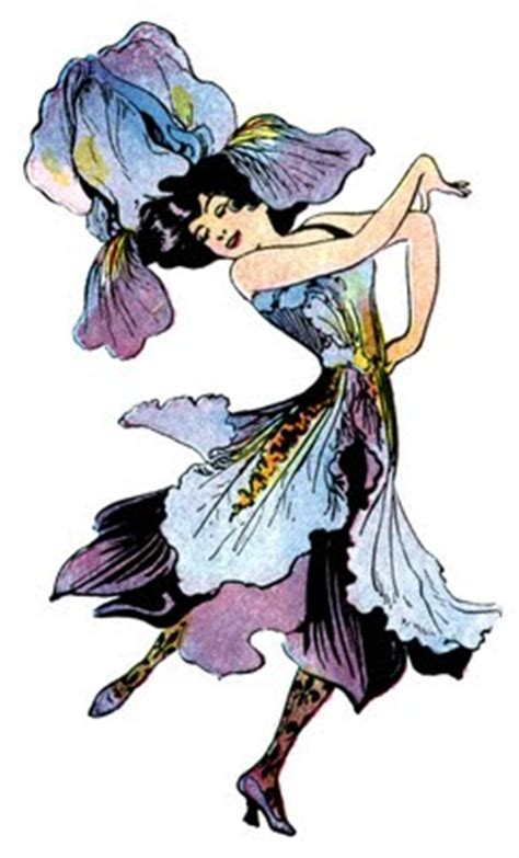 vintage image flower fairy iris  graphics fairy