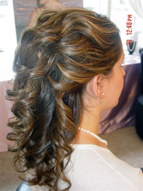half up half down wedding hairstyles for medium length