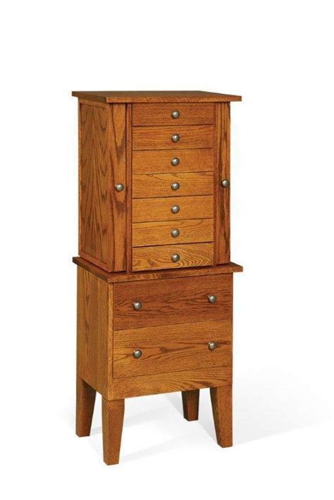 amish handcrafted shaker jewelry armoire